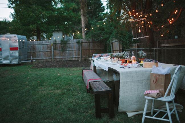 A Surprise Backyard Proposal