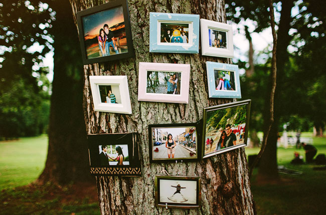 frames on a tree