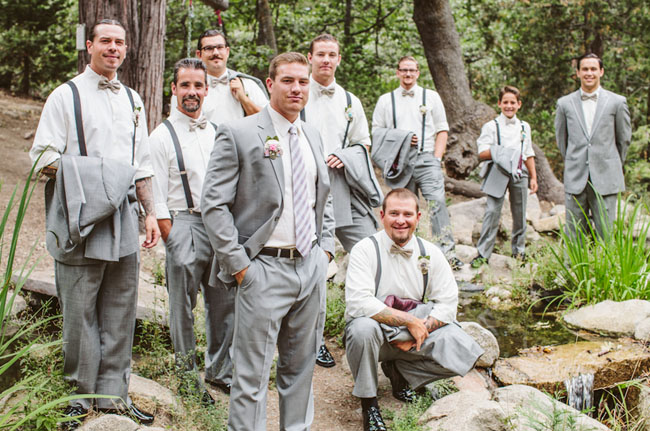Rustic Chic Lake Arrowhead Wedding: Jennifer + Kyle - Green Wedding ...