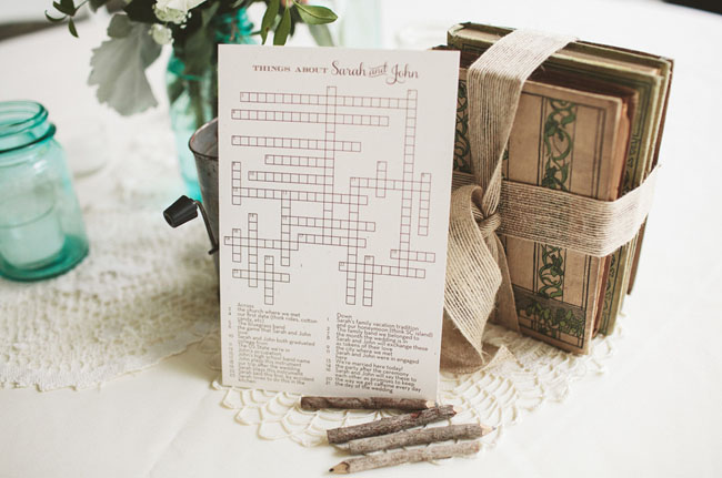 wedding crossword