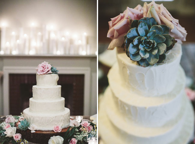 succulent cake topper