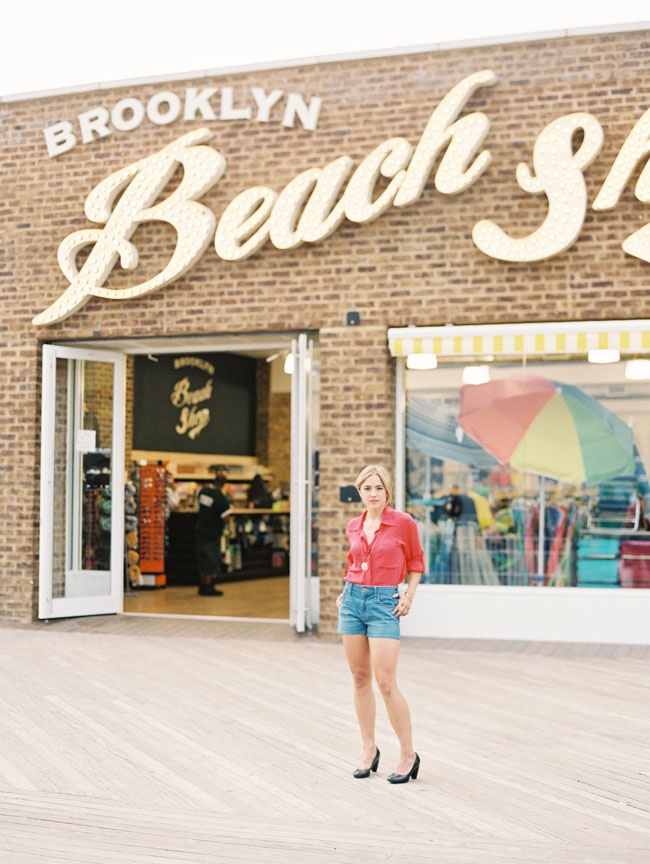 beach shop sign