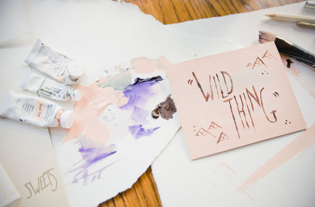 where the wild things are wedding paper
