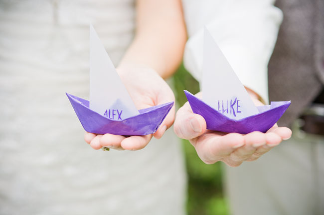 sailboat place cards