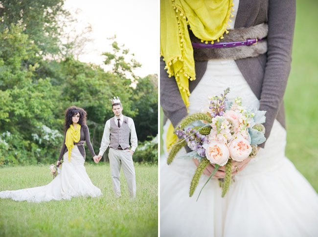 cardigan belt bride