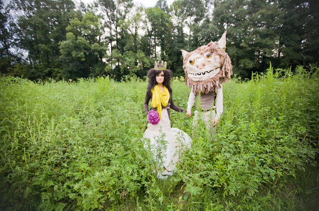 where the wild things are wedding inspiration