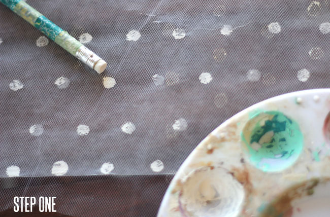 DIY-polka-dot-veil-step1