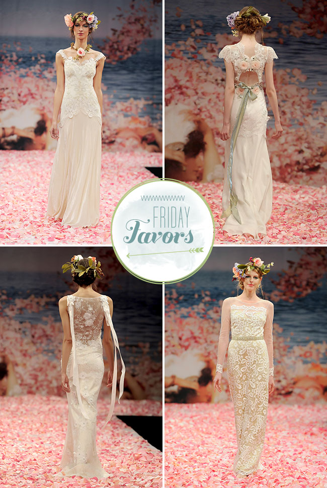 Claire Pettibone Summer 2013 Wedding Dresses