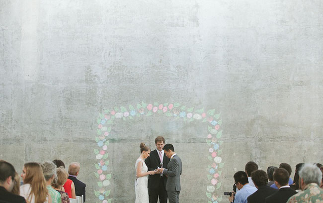 chalk wall ceremony
