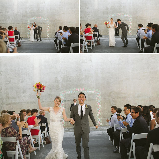 fun ceremony exit