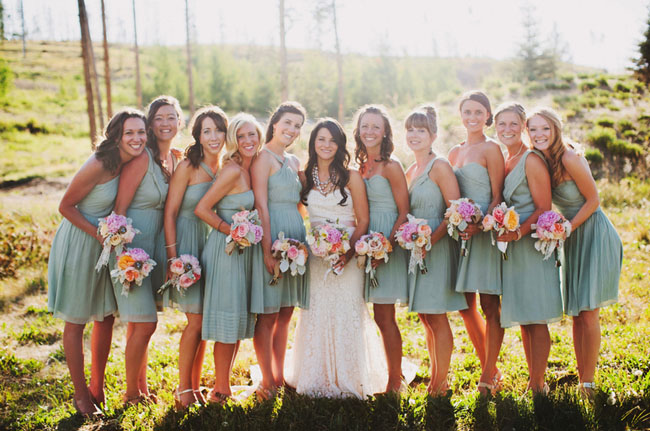 jcrew dusty shale bridesmaid dresses