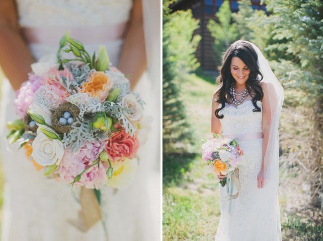 light and romantic bouquet