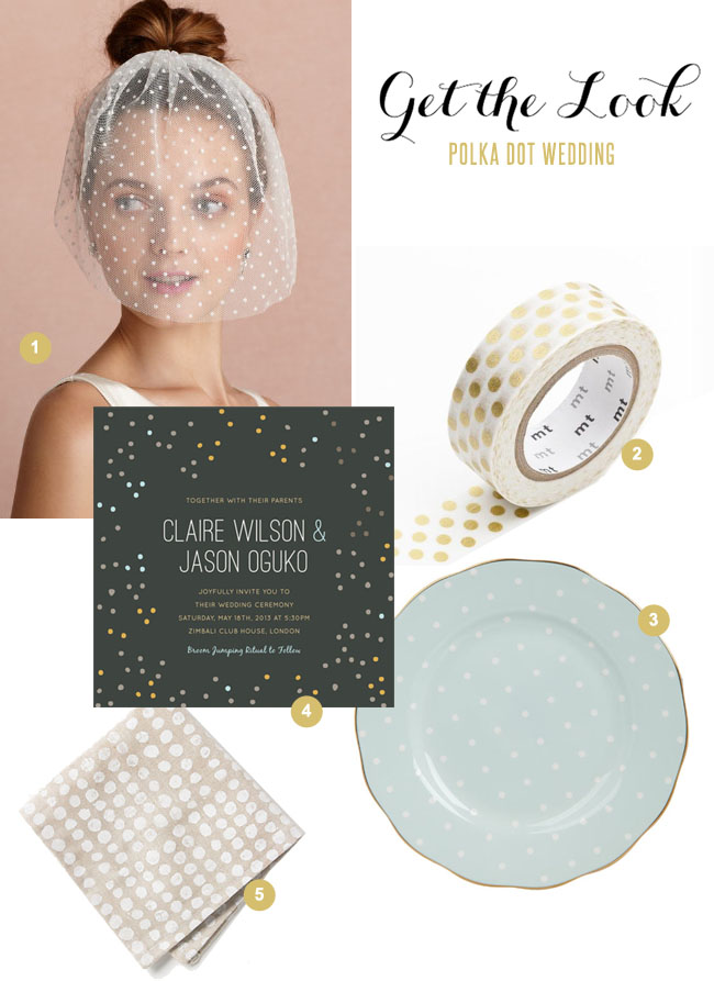 get-the-look-polka dot wedding