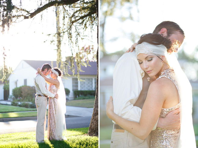 great gatsby bride and groom