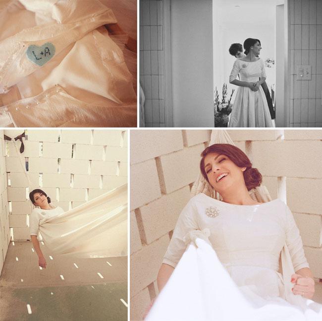 bride in hammock
