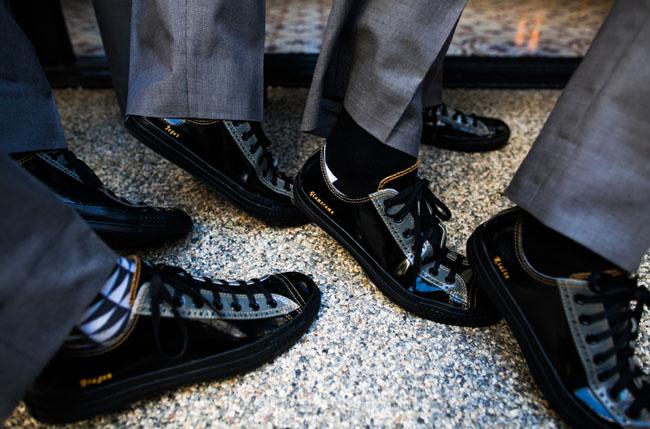 groomsmen sneakers