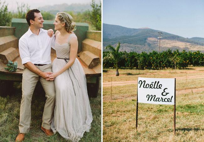 pomegranite farm wedding