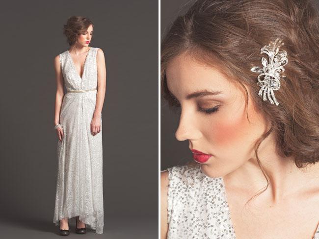 sequin wedding dress sarah seven