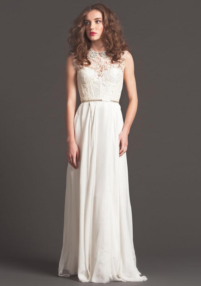 lace wedding dress sarah seven
