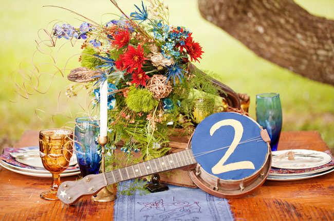 banjo table number