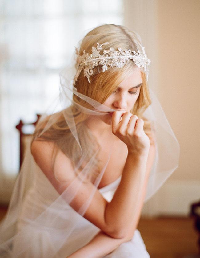 lace head wrap veil