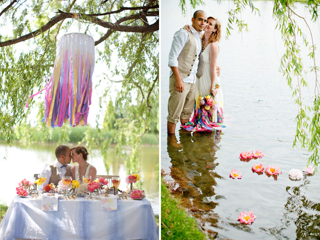 underwater wedding inspiration