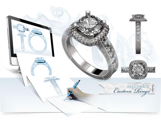 Antique-Cushion-Halo-Custom-Ring