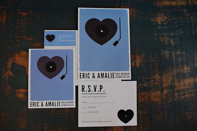 heart record invite