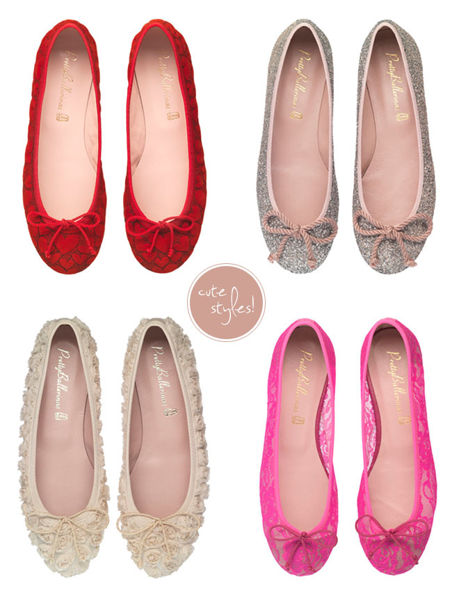 ballerina flats shoes