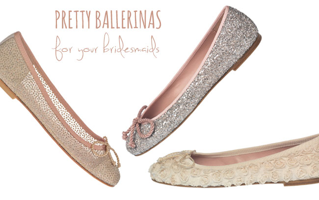Pretty Ballerinas For Your Bridesmaids A Giveaway