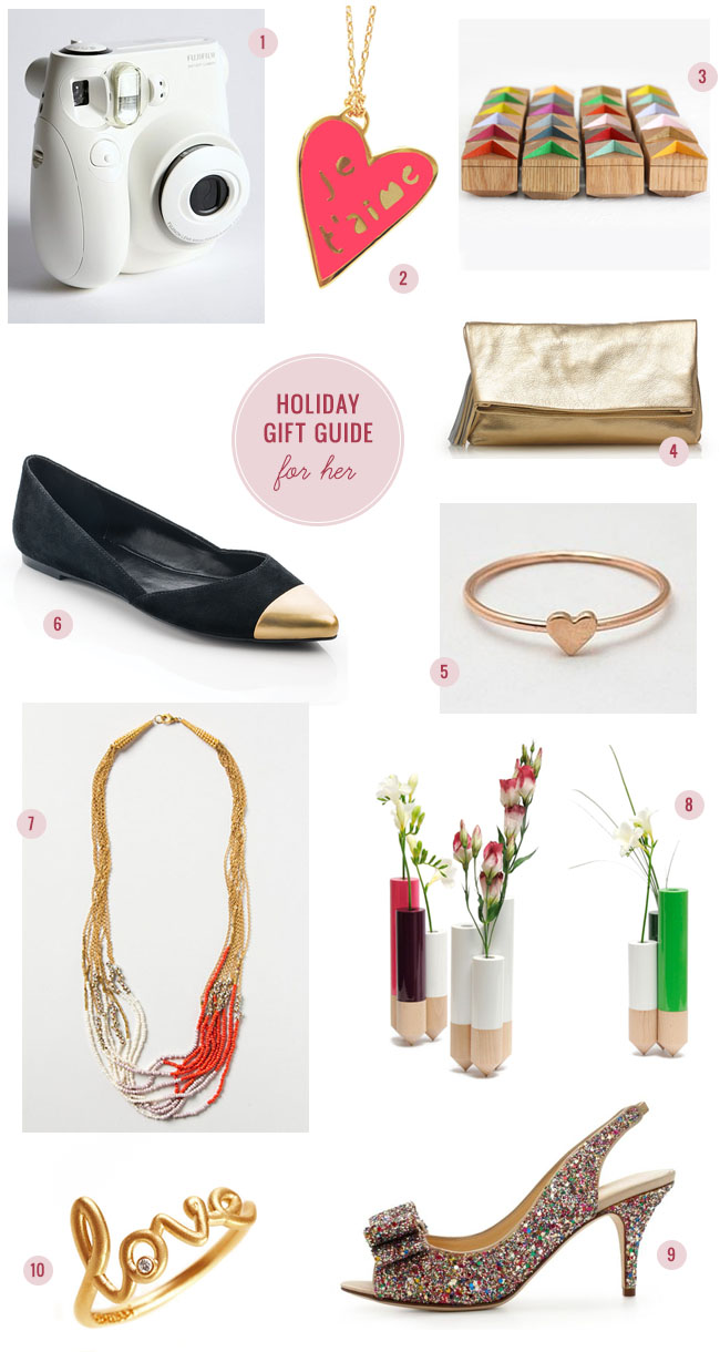 & Holiday Gift Guide u2013u2013 For Her