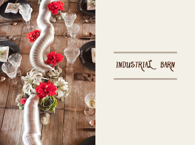 industrial barn wedding ideas