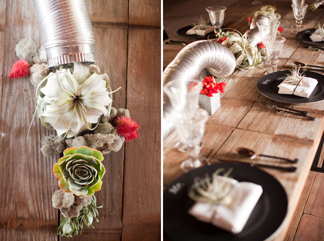 air duct centerpiece