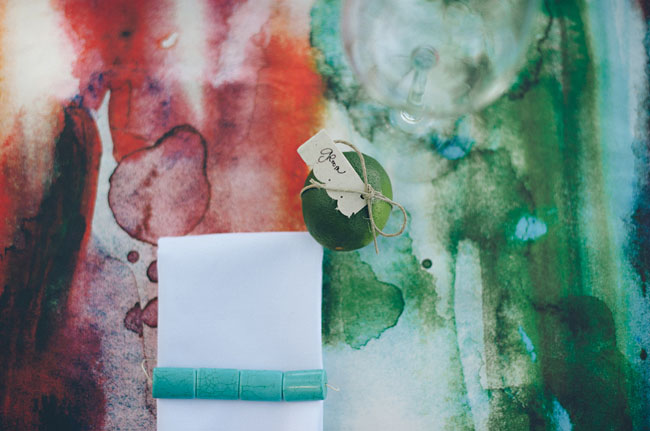 watercolor table cloth