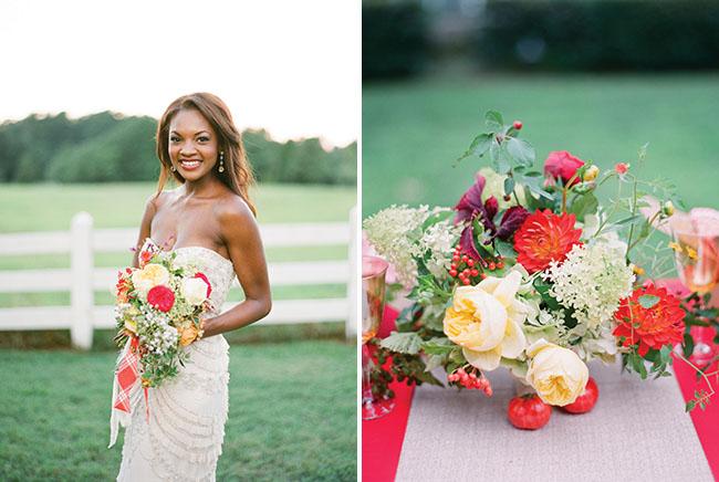 southern weddings bride