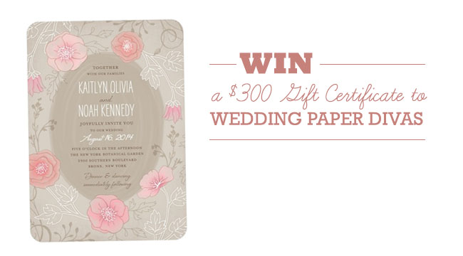 wedding paper divas contest