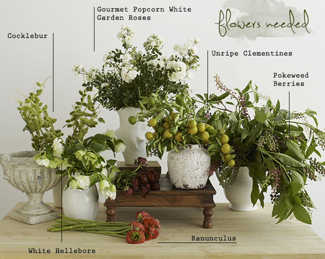 DIY_Holiday_Centerpiece_flowers
