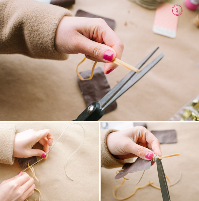 DIY confetti slingshot step 5