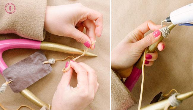DIY confetti slingshot step 6