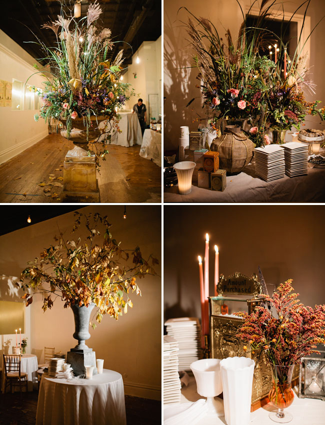 fall flower centerpieces
