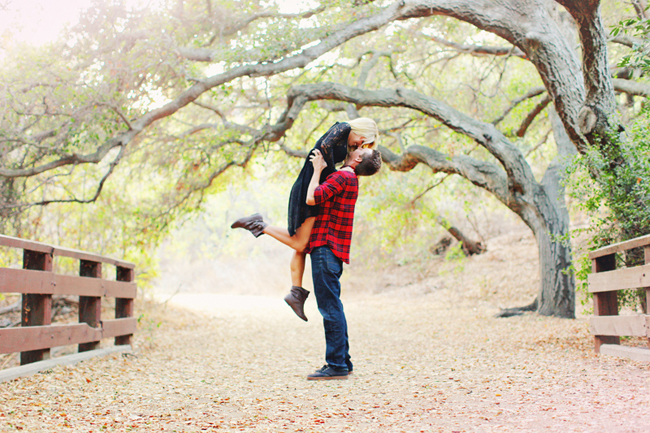 wooded engagement