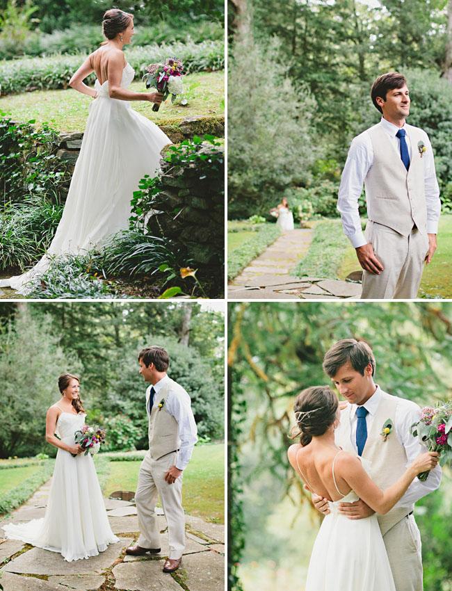 Georgia Woodland Wedding: Sara + Jim