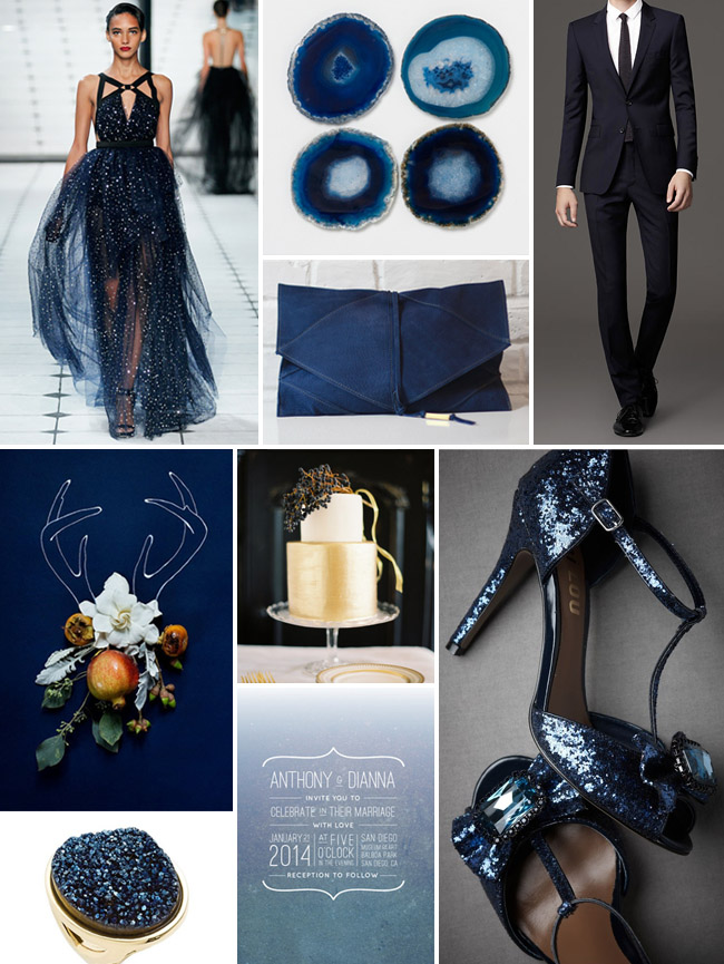 Inspiration Board 49 Midnight Agate