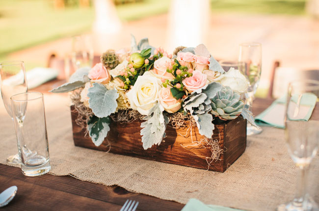 dusty miller centerpieces