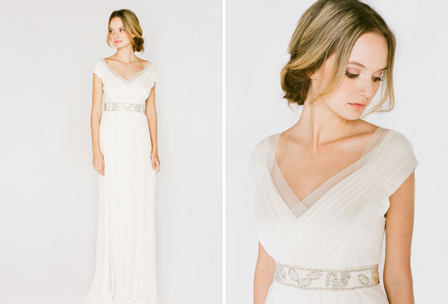 Simple Elegant Wedding Dresses Collections: Saja Wedding 2013 Collection