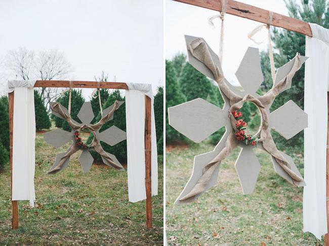 snowflake altar