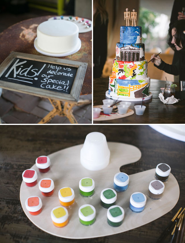 paint your own cake