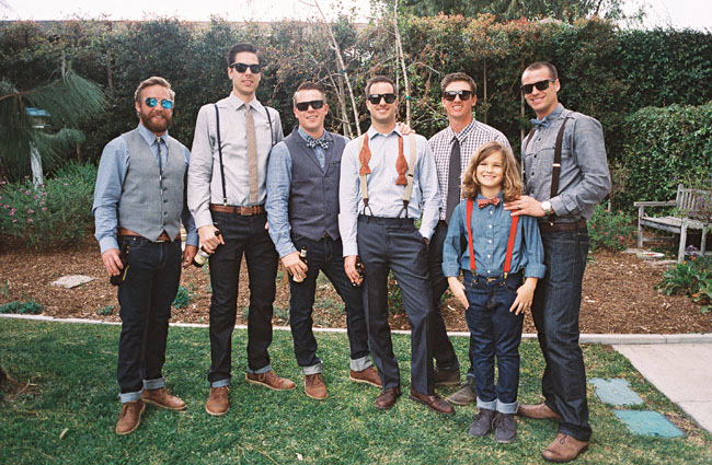 stylish groomsmen