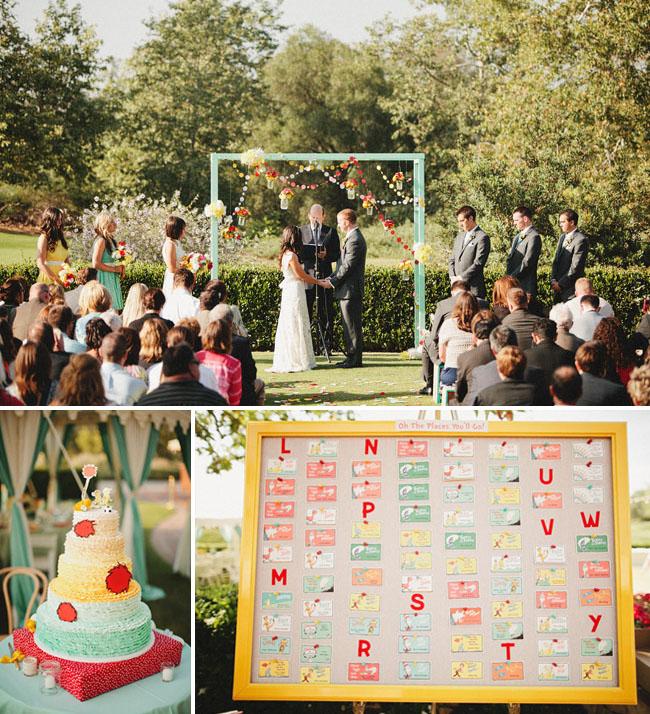 dr suess wedding