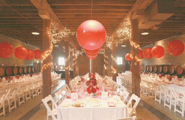 reception balloons